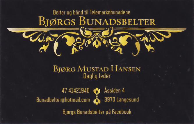 Bjørgs Bunadsbelter
